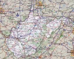 Virginia State Parks Map Detailed Map Of Virginia Cities Virginia Map