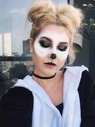 panda halloween costume make up halloween costume makeup