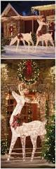 Lighted Christmas Decorations by Best 10 Outdoor Christmas Yard Decorations Ideas On Pinterest