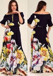 maxi dresses with sleeves black flowers print puff sleeve maxi dress maxi dresses dresses