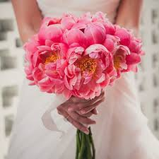 pink wedding bouquet ideas brides