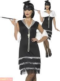 ladies 1920s flapper costume adults charleston fancy dress womens