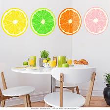 orange fruit slice citrus kitchen wall decal removable wall orange fruit slice citrus kitchen wall decal removable wall stickers retroplanet com