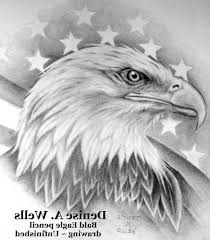 American Flag Tattoos Black And Grey Bald Eagle American Flag Tattoo Tattoo Fantastic