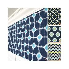 blue window valance navy curtain valance aqua valance lime