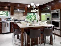 L Shaped Kitchen Island 2 Dark Brown Parquet Flooring Plan L Shaped Kitchen Island
