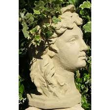 fairy head planter designer stone outdoor planters planters home decor