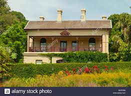 Melb Botanical Gardens by Peter Rowland House In Melbourne Botanical Gardens Melbourne