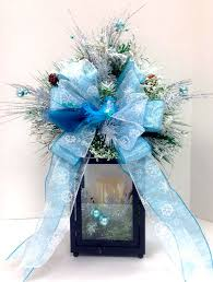 Ice Blue Christmas Table Decorations by 358 Best Blue Christmas Images On Pinterest Blue Christmas
