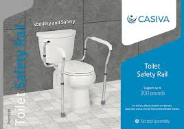 chp code 1141 amazon com casiva premium toilet safety rail strong secure