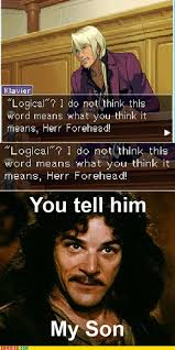 Inigo Montoya Meme - memebase apollo justice all your memes in our base funny