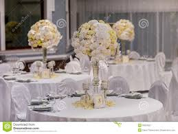 wedding party table decorations stock photo image 50824657