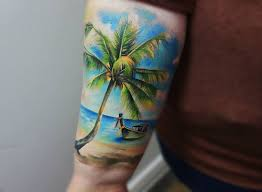 beach scene tattoo tattoos pinterest beach scenes beaches