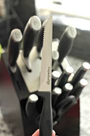 self sharpening kitchen knives best 25 calphalon knives ideas on knife sets