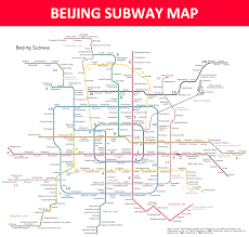 Toronto Subway Map Beijing Subway Map Lines Stations And Interchanges