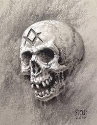 masonic skull study by stelf 2014 on deviantart evil pinterest