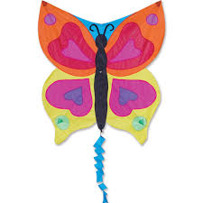flyer kite rainbow butterfly premier kites designs