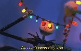 colorful eyes christmas lights gif colorfuleyes christmaslights