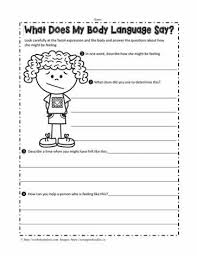 ideas collection body language worksheets with cover letter