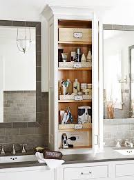 Bathroom Countertop Storage Ideas Creative Bathroom Storage Ideas Vertical Storage Low Shelves