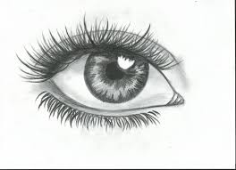 pictures simple pencil sketches of eyes drawing art gallery