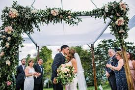 wedding arches edmonton chuppah ideas smashing the glass wedding