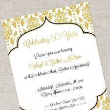 50 wedding anniversary invitation sles for 50th wedding anniversary best of 50th wedding