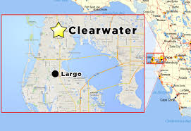 Cape Coral Florida Map Tropicana Mini Storage Self Facility Throughout Map Of Clearwater