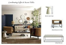 west elm martini table martini side table how to coordinate coffee accent tables like a
