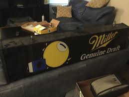 Miller Genuine Draft Pool Table Light Miller High Life 28 Quot Stained Glass Pool Table Light 281475 At