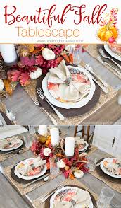 beautiful fall tablescape blooming homestead