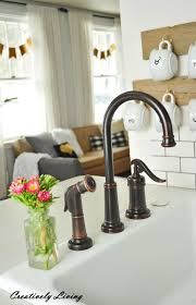Pfister Kitchen Faucet Reviews by My New Pfister Faucet The Review By Creatively Living Blog