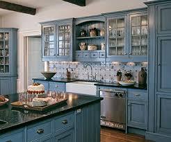 Painted Blue Kitchen Cabinets | blue kitchen design blue kitchen designs blue kitchen paint