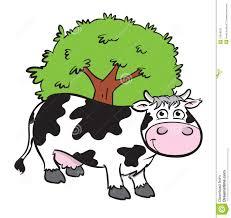 cute cartoon cow royalty free stock image image 12918126