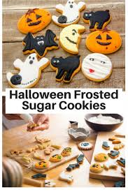 halloween frosted sugar cookies recipe frosted sugar cookies