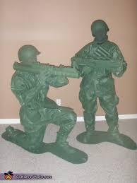 Army Men Halloween Costume Plastic Army Man Halloween Costume Costume Model Ideas