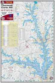 lake lanier map ga lake maps kingfisher maps inc