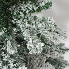 24 best flocked artificial trees images on