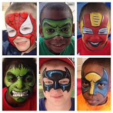 best 25 mask face paint ideas on pinterest superhero face