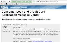 approved nfcu visa signature flagship rewards cr myfico