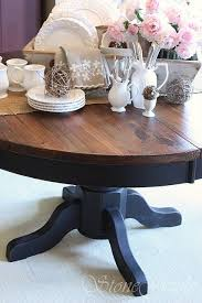 Refinishing A Kitchen Table by Best 25 Refinish Table Top Ideas On Pinterest Paint Wood Tables