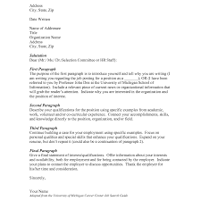 Examples Of Cover Letters For A Job What Do I Include In A Cover Letter