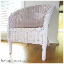 How To Restore Wicker Patio Furniture by How To Paint A Wicker Chair With Chalk Paint Honey U0026 Roses