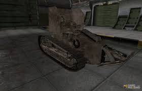french renault tank french skin for renault ft ac for world of tanks