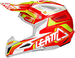 orange motocross gear leatt gpx 5 5 motocross helmet orange yellow white buy cheap