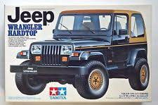 jeep model kit tamiya 1 24 jeep wrangler hardtop vintage scale model kit 90s ebay