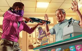 grand theft auto robbery wallpaper game wallpapers 53993