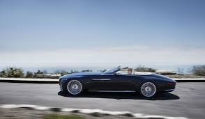 mercedes classic convertible the new mercedes maybach concept is a 20 foot long convertible