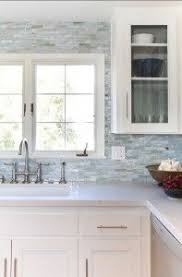 backsplash for kitchen ideas iridescent glass tile by lunada bay stainless with taupe