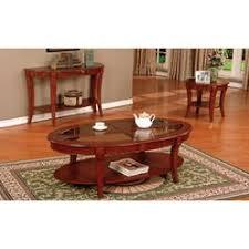 Cherry Wood Coffee Table Cherry Wood Oval Coffee Table